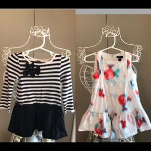 2 Girls Size: 2T Dresses From BABY GAP